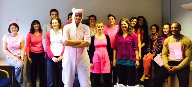 Itad Staff in Pink