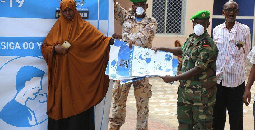 Coronavirus public information campaign, Somalia
